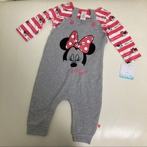 Disney Minnie Mouse Cute Romper Set